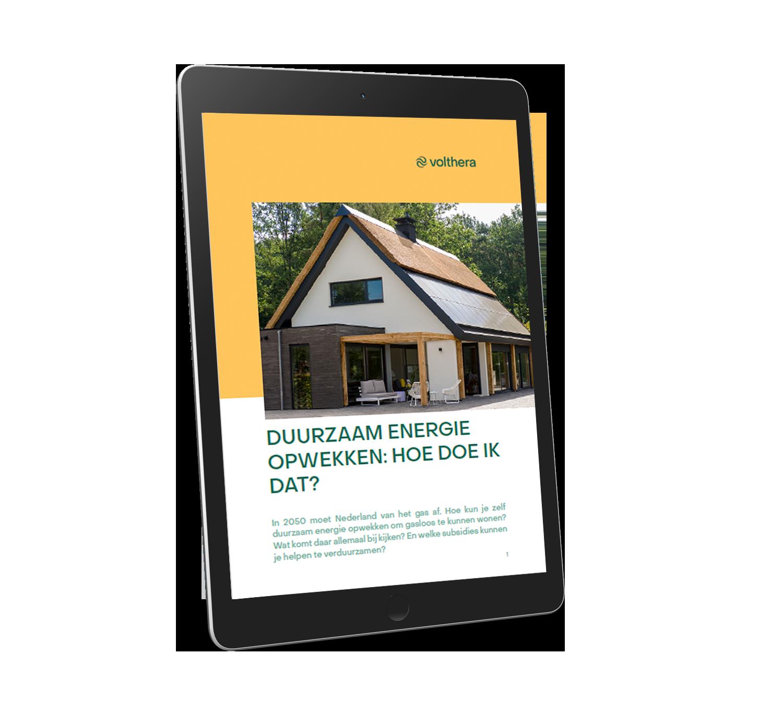 Mockup E-book duurzaam energie opwekken